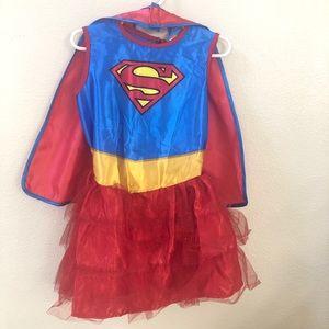 Supergirl costume 3T-4T